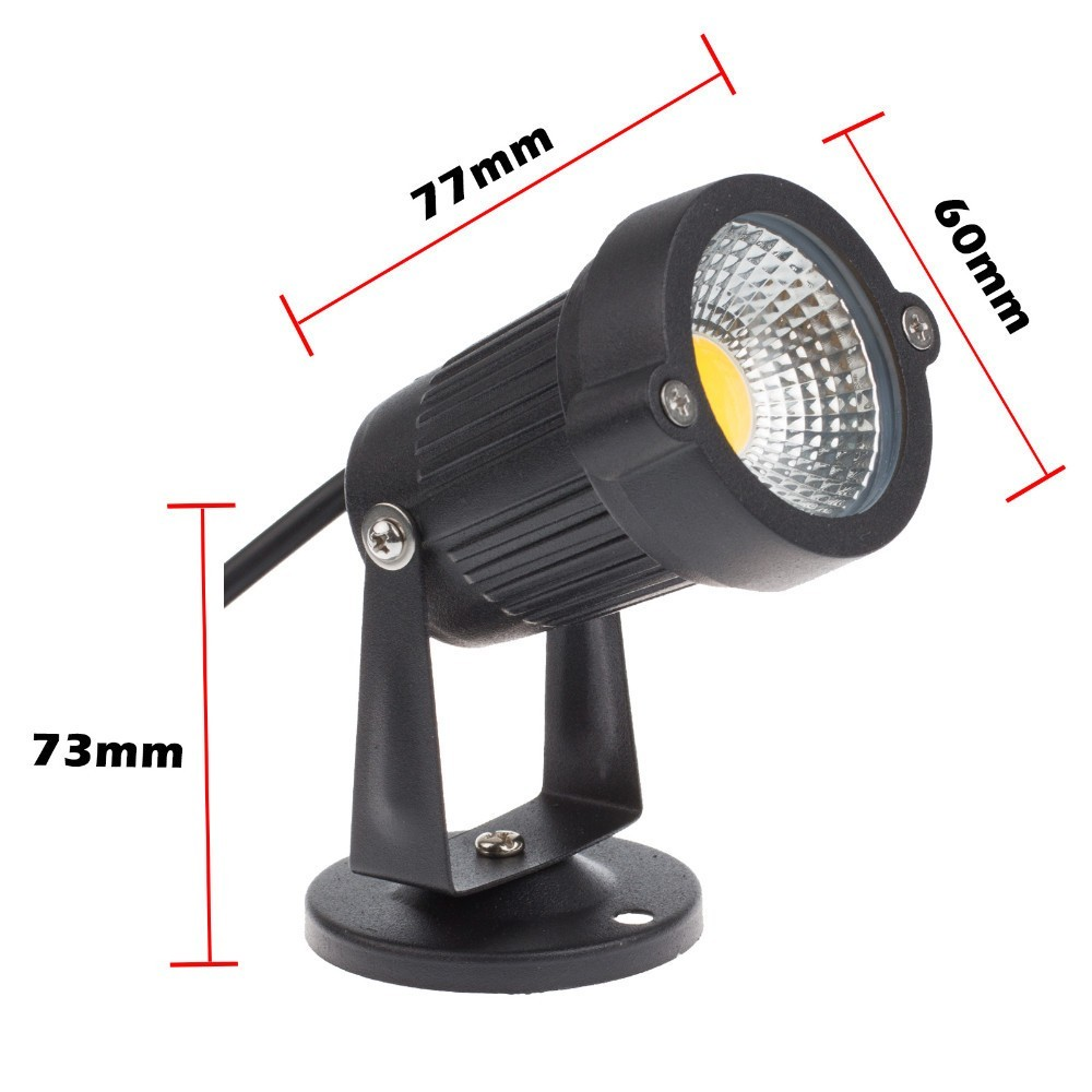 9 W 7 W 5 W 3 W COB Outdoot Waterdichte Led Tuin Lamp LED Licht 110 V - Buitenverlichting - Foto 5
