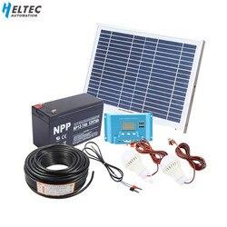 10W domowy system fotowoltaiczny 18V panel słoneczny z kontroler słoneczny kabel DIY zestaw