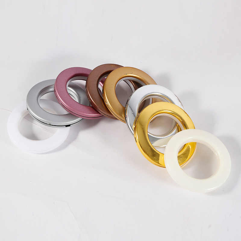 67423676895392 82pcs lot Roman Ring Curtain Accessories Punch Roman Circle Buckle  All-Match Lots of