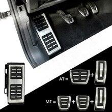 רכב דוושות רגל כובע שאר כיסוי Accelerator בלם מצמד עבור פולקסווגן גולף 7 GTi MK7 לאון אוקטביה A7 מהיר אאודי A3 8V פאסאט השמיני