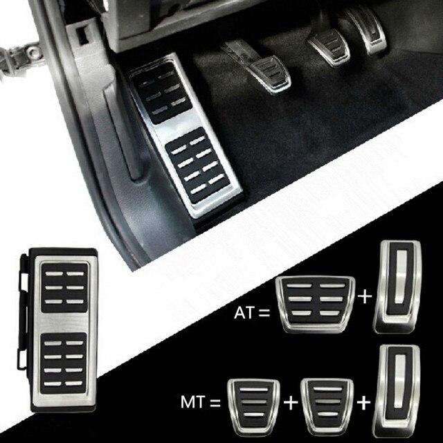 Accessoire pour pédales, couvercle daccélérateur, frein et embrayage, pour repos du pied, pour VW Golf 7 GTi MK7, Seat Leon Octavia A7 Rapid, Audi A3 8V Passat VIII
