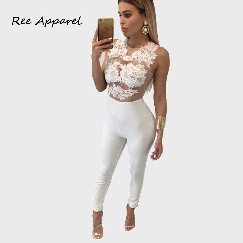 Popular Lace Jumpsuit-Buy Cheap Lace Jumpsuit lots from China Lace ...