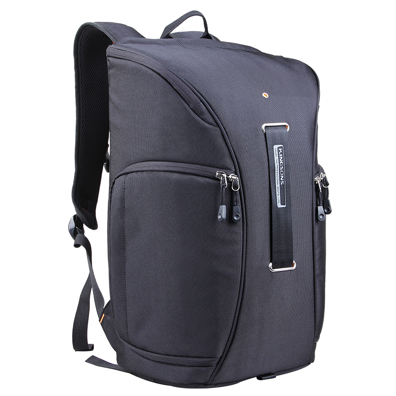 ASDS Kingsons Camera Video Bag Digital DSLR SLR Backpack w/ Rain Cover Notebook Backpack 15.6 inch Men Women Laptop Bag dslr camera laptop backpack waterproof photo digital dslr camera bag rucksack camera video bag slr camera rain cover li 1632