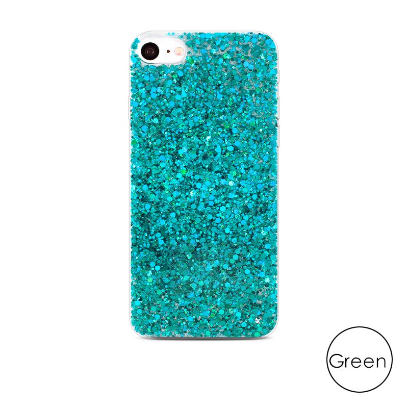 HTB1RPyFaorrK1RkSne1q6ArVVXa1 - Gurioo Silicone Bling Glitter Crystal Sequins Hard shell Phone Case For iPhone 11 5 SE 6 6S 7 8 X Plus XR XS Max Protective Case