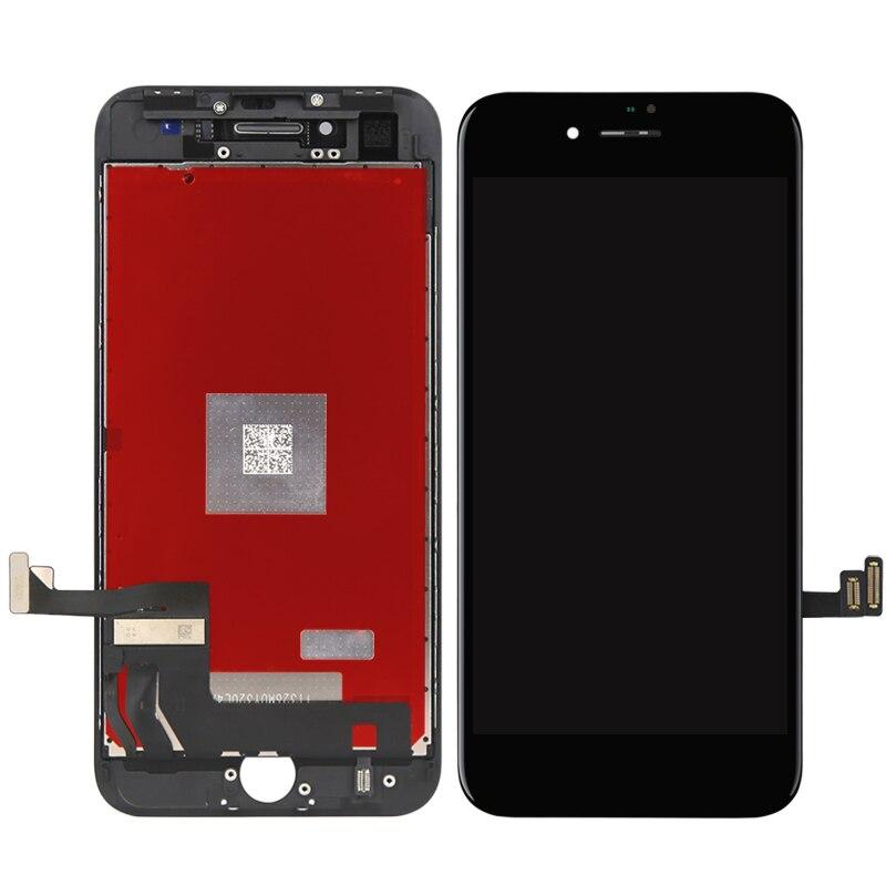 100% testé pour iphone 8 LCD écran OEM qualité affichage 3D écran tactile numériseur assemblée pour remplacement de téléphone portable