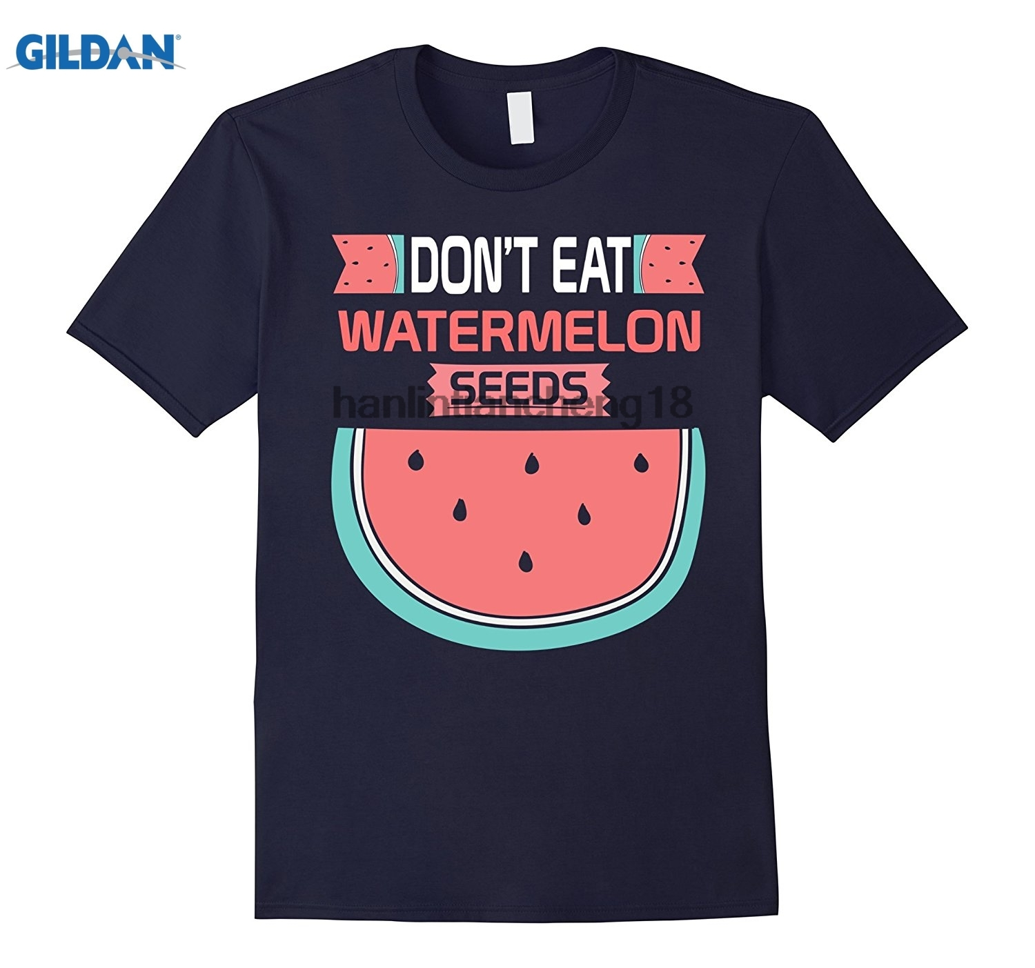 GILDAN 2018 Dont Eat Watermelon Seeds Maternity Shirt Funny Pregnancy ...