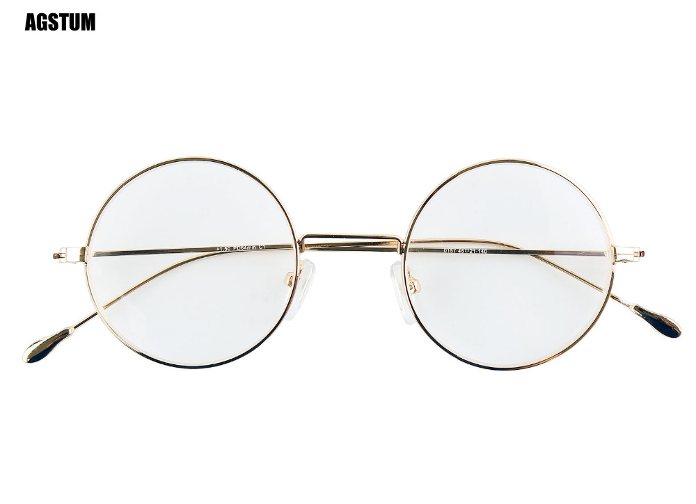 419c4b95c2 Aliexpress.com   Buy Agstum Antique Round 44mm Metal Vintage Reading  Glasses Readers +1.00 +1.50 +2.00 +2.50 from Reliable glasses reader  suppliers on ...