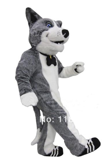 MASCOT Hond Huskie Husky mascotte kostuum custom fancy kostuum anime - Carnavalskostuums