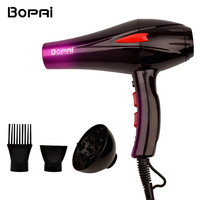 Professional 4000W Super Power Hair Dryer Fast Styling Blow Dryer Hot And Cold Adjustment With Two