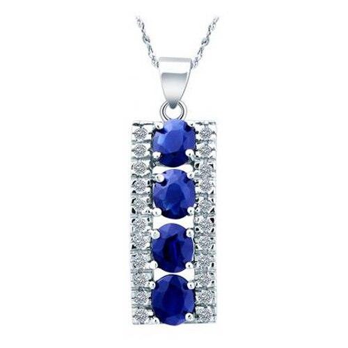 Collares Collier Qi Xuan_Dark подвеска с синим камнем шейный_ настоящий шейный_ качество Directly ed_производитель напрямую