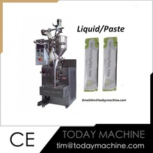 Vertical Sauce Tomato Paste Packaging Machine Viscous Thick Liquid Packing