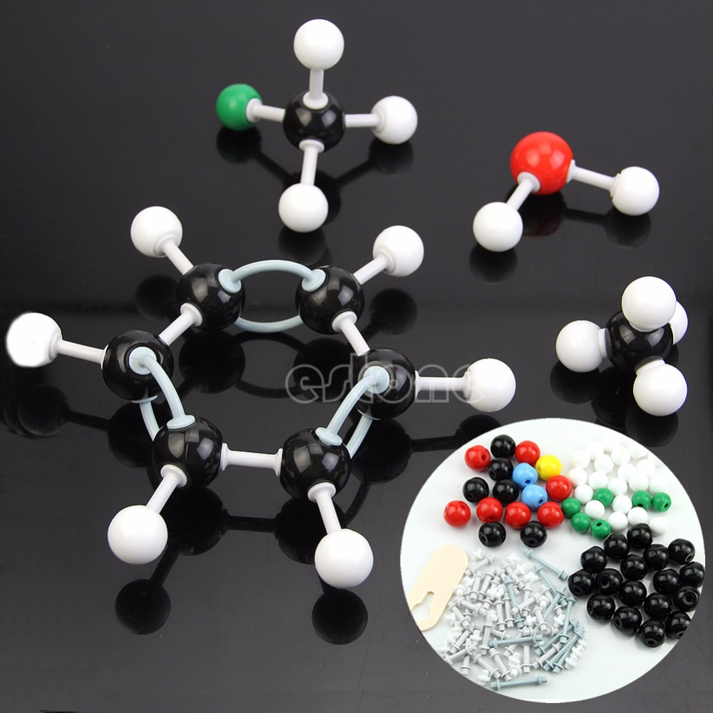 Durable Organic Chemistry Scientific Atom Molecular Models Teach Set Kit NEW
