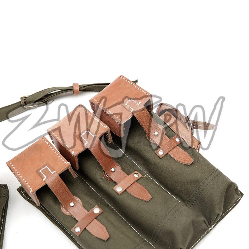 WW2 WWII Ordu Walther MP44 Canvas Bir sursat Çantası Kartric - Komanda idman növləri - Fotoqrafiya 3