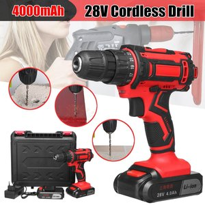 28V 3/8'' Electric Cordless Dr
