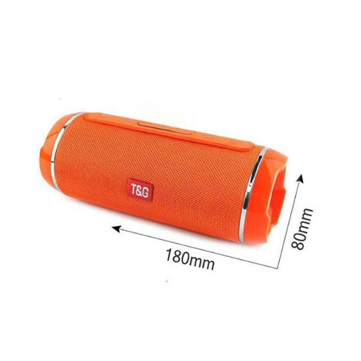 Горячая Портативная колонка TG117 Беспроводная Bluetooth Колонка Бас Звуковая Панель сабвуфер музыкальный плеер звуковая система