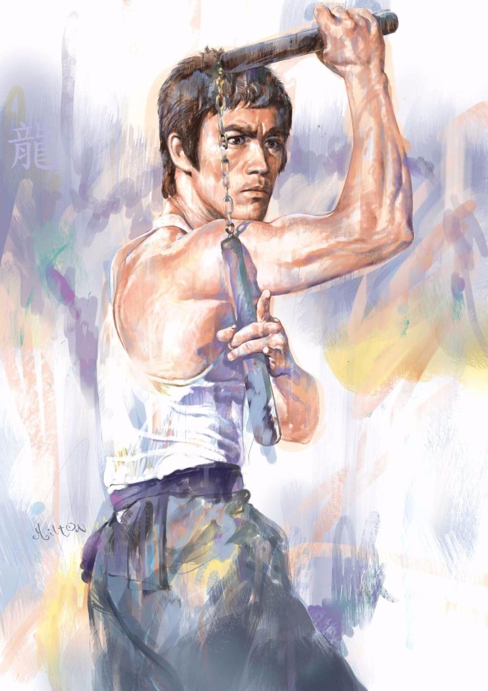 Cool Bruce Lee Art