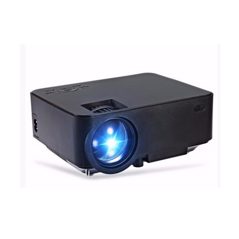 800 480 portable projector home theater support hdmi or for Usb projector reviews