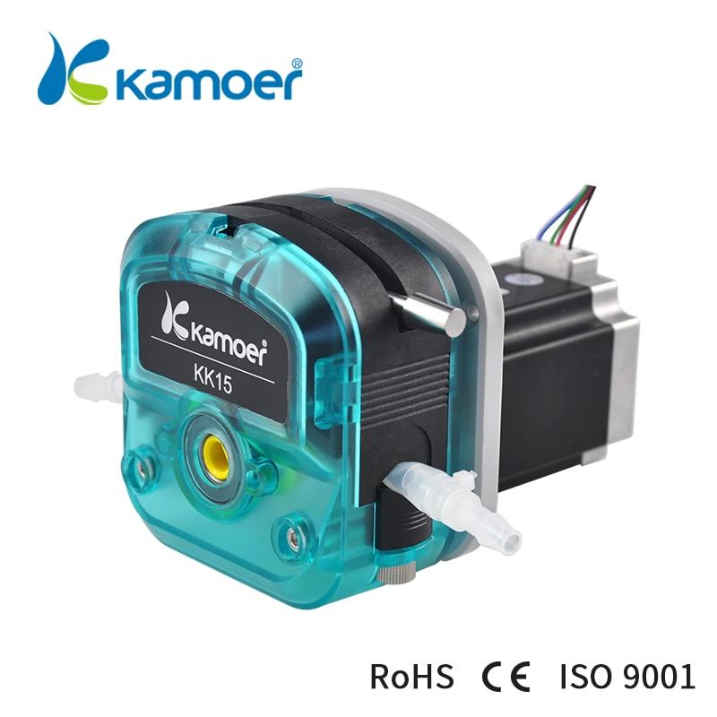 Kamoer KKTS pompe péristaltique à Transmission par engrenages à plusieurs étages moteur pas à pas pour transfert de liquide (tête unique)