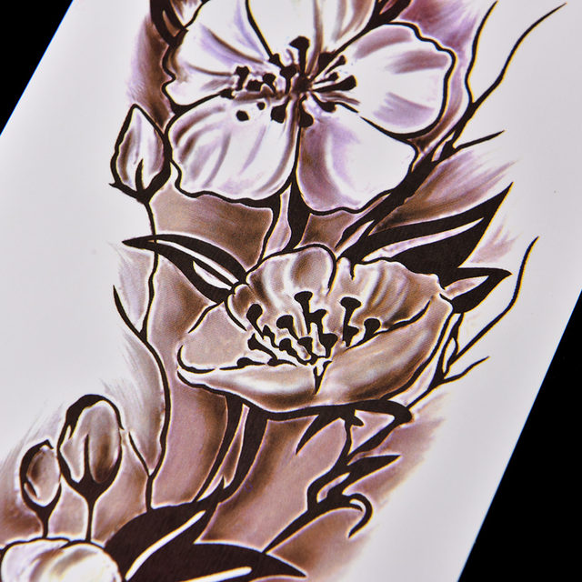 27a4ae1f0206c Online Shop Sexy Women Temporary Tattoo Plum Blossom Waterproof ...