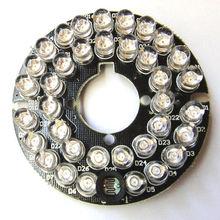 36 Светодиодов 5 мм Инфракрасный ИК 60 Градусов Лампы СВЕТОДИОДНЫЕ Табло Для CCTV Камеры(China (Mainland))