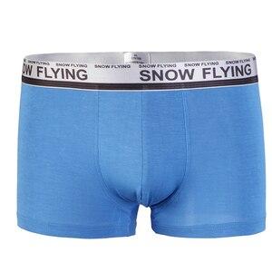 Image 4 - Marke Unterwäsche Männlichen Boxer Baumwolle Männer Boxer shorts Solide Höschen Plus Größe Unterhose Für Männer L XL XXL XXXL 5 teile/los