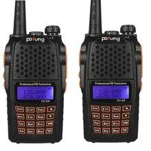 2PCS Baofeng UV-6R Walkie Talkie UHF&VHF Dual Band UV 6R CB Radio UV-5R Upgraded Version FM Transceiver for Ham Radio
