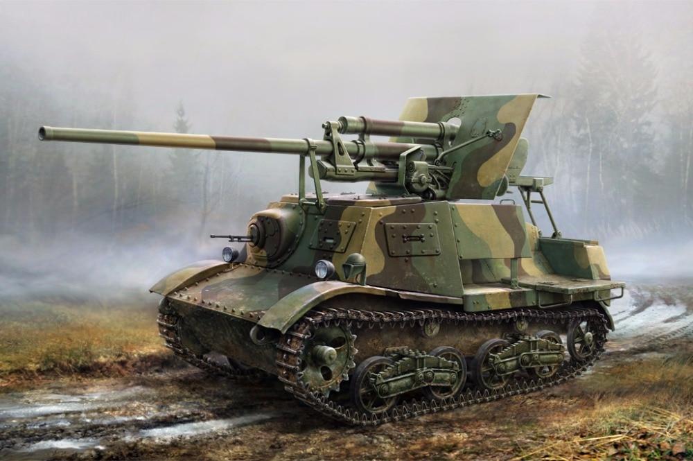 Self Driving Cab >> British Anti-Tank Gun QF 6-PDR MK-II - Zvezda 3518 - English