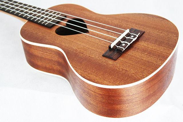 Heart Patterned Soprano Ukulele