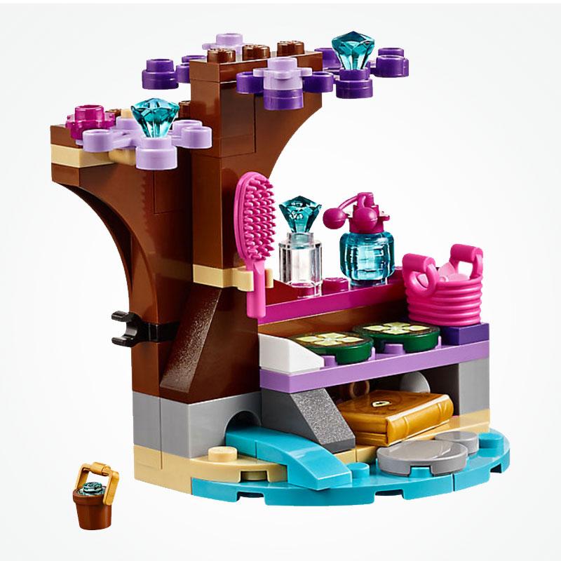 249Pcs Self-Locking Bricks Friends Figuras Princess Elve Nalda's Spa Secret Set Building Blocks Compatible Friends For Girl Toys