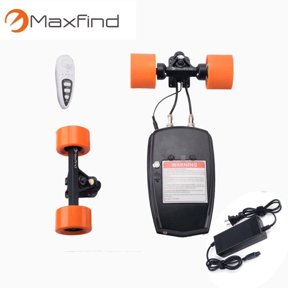 DIY electric skateboard for roller skate with electric scooter motor controller Samsung battery