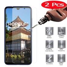 Vidro temperado protetor para celulares xiaomi, vidro temperado para proteção de celulares redmi note 7, 2 peças protetor de tela note,