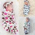 Новорожденного Ребенка Обертывание Спальный Мешок Оголовье Пеленание Одеяло Пеленание Полотенце мешок овсянки