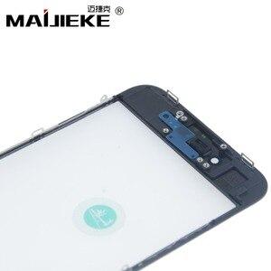 Image 4 - Pantalla de prensado en frío 3 en 1, cristal frontal + marco + película OCA para iphone XR, XS, X, 8 plus, 7, 6s, 6 plus, piezas de repuesto de vidrio 5s, 10 Uds.