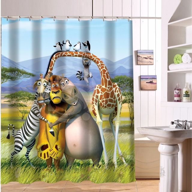 Madagascar Lion Giraffe Custom Create Design Your Own Waterproof