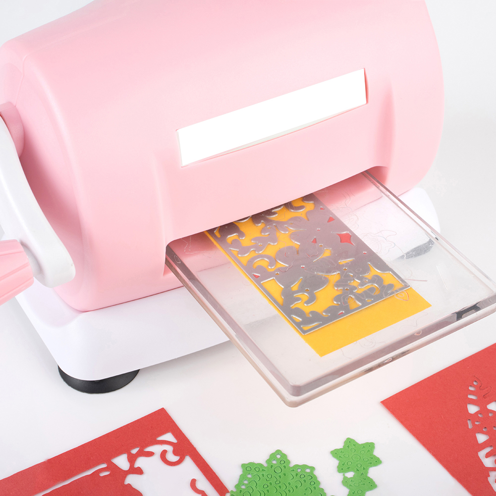 DIY Dies Cutting Embossing Machine Scrapbook Dies Cutter Paper Card Die-Cut Machine Home Embossing Dies ToolDIY Dies Cutting Embossing Machine Scrapbook Dies Cutter Paper Card Die-Cut Machine Home Embossing Dies Tool