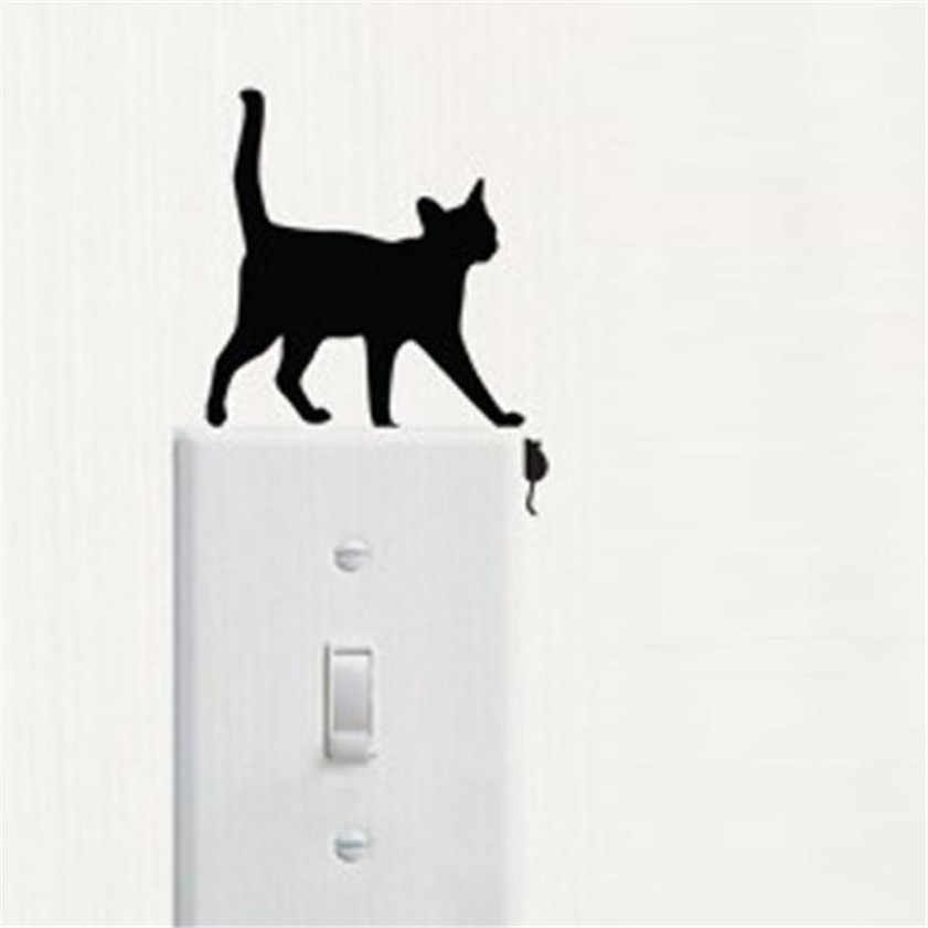11.11 High Quality Room Window Wall Decorating Switch Vinyl Decal Sticker Decor Cartoon