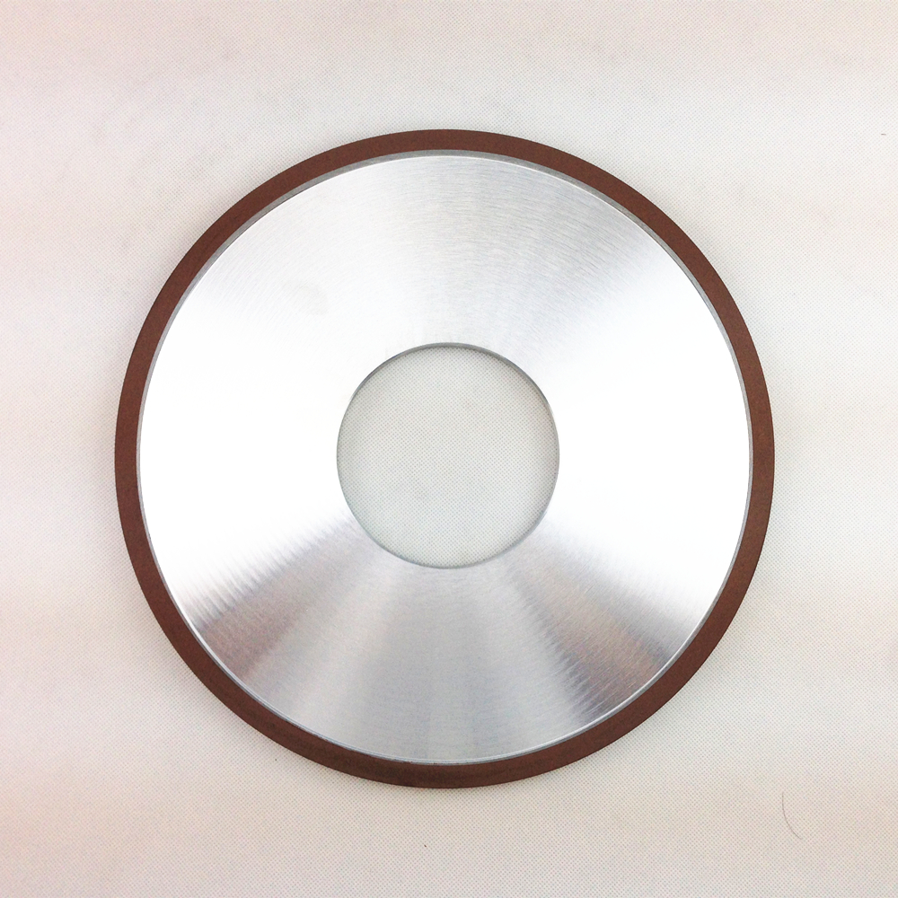 Particle: 150 # Resin Diamond Wheel Parallel grinding wheel Grinding: Alloy Glass Ceramics 300*101.6*10*10 Concentration: 75%