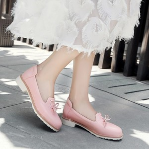 Image 4 - Big Size 11 12 ladies high heels women shoes woman pumps Single shoe casual footwear shallow round headed woman