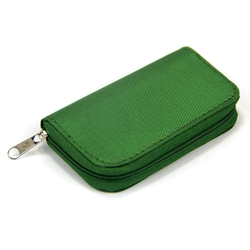 22 Slots Portable Carrying Pouch Wallet Memory Card Storage Holder Waterproof SD Cards Protecter Storage Cases Carrying