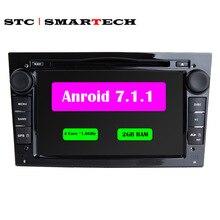Android 7.1 de DVD Del Coche Grabadora de Radio Estéreo Para Vauxhall Opel Astra h & G J Vectra Zafira Antara Corsa GPS 2G RAM 4 Corteza A9