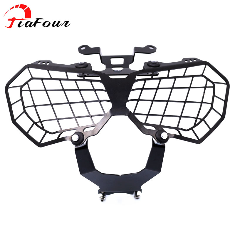 grille headlight protector guard For HONDA CRF1000L AFRICA TWIN 2016 2017 motorcycle accessorie lense cover kemimoto for honda 2016 africa twins crf 1000l motorcycle headlight lens guard roof protection for honda crf1000l africa twin