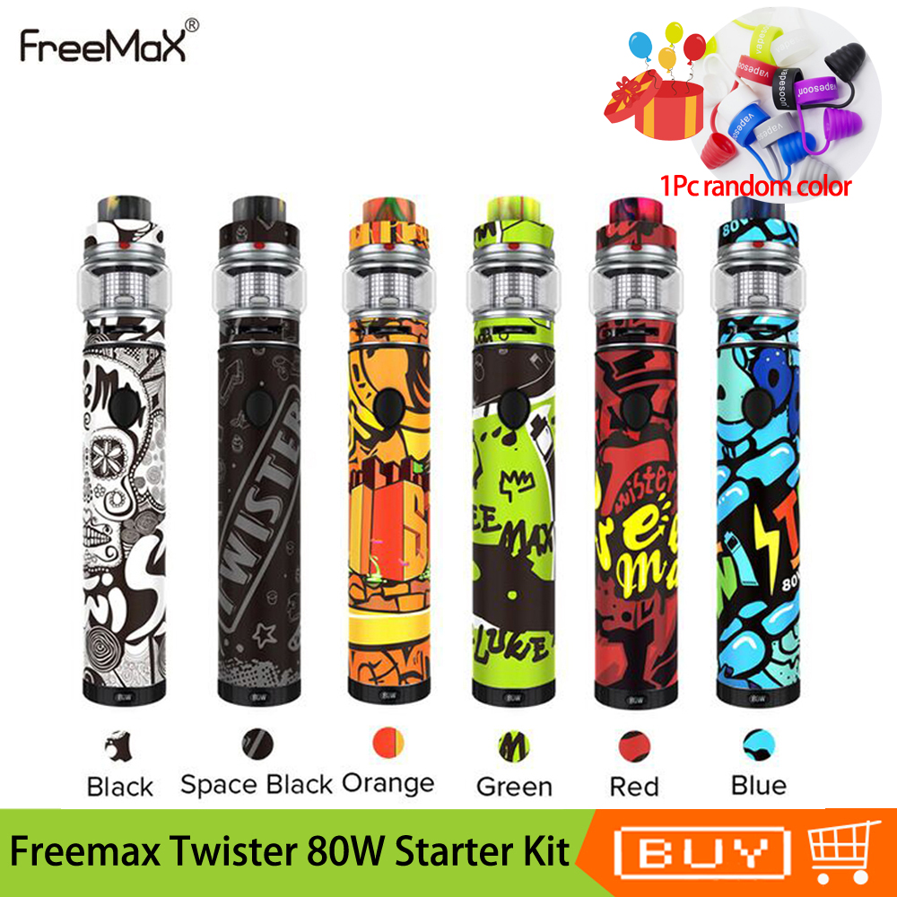 Vaporizer China Suppliers Original Freemax Twister 80w Starter Kit 2300mah Battery Vaporizer Vape Pen With Fireluke 2 Tank 5ml