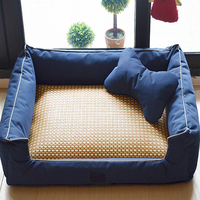 Soft Dog House Washable Pet Beds Warm Cozy Dogs Mats Puppy Space Bed Dog Large Cachorro Cages Hondenmand Sleep Articles 60Z1412