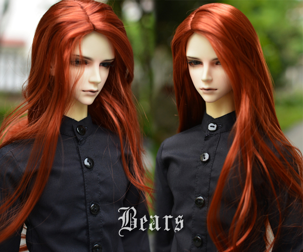 1/3 BJD Wig Hair Super Doll Bjd Wig Fashion Style Doll Curly Mohair Hair Wig new style 1 3 1 4 16 bjd wig super doll cute wig mohair single braid for bjd doll hair free shipping