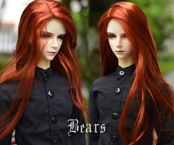 1/3 BJD Wig Hair Super Doll Bjd Wig Fashion Style Doll Curly Mohair Hair Wig