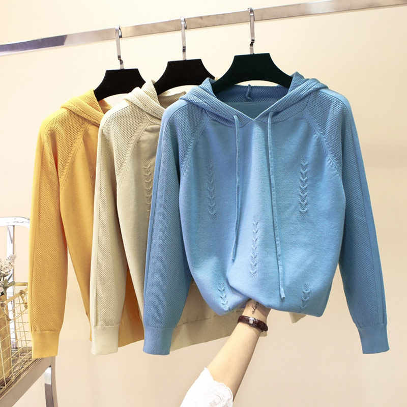 GIGOGOU Outwewar Women Sweater Autumn Winter Thick Female Jumper Long Sleeve Pullover Jacket Sweaters Top Pull Femme Hiver