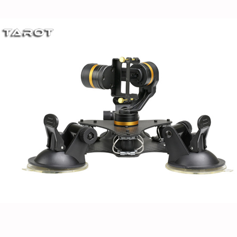 Tarot ZYX T-DZ 3-Axis Metal Gimbal Stabilizer for Car Vehicle Mounted PTZ TL3T03 for GOPRO HERO 3/3+/4 Action Sport Camera tarot 3d v metal 3 axis ptz gimbal for gopro hero 5 camera stablizer tl3t05 for fpv drone system action sport camera