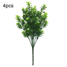 Fake Trees Leaves Greenery Planta Artificial Artificielle Piante Finte Fausse Plante Yapay Bitki Artificial Tree Plastic Plants(China)
