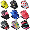 2017 3D GEL Pad Half Finger The Tour De France MTB Bike Gloves Cycling Gloves Luvas