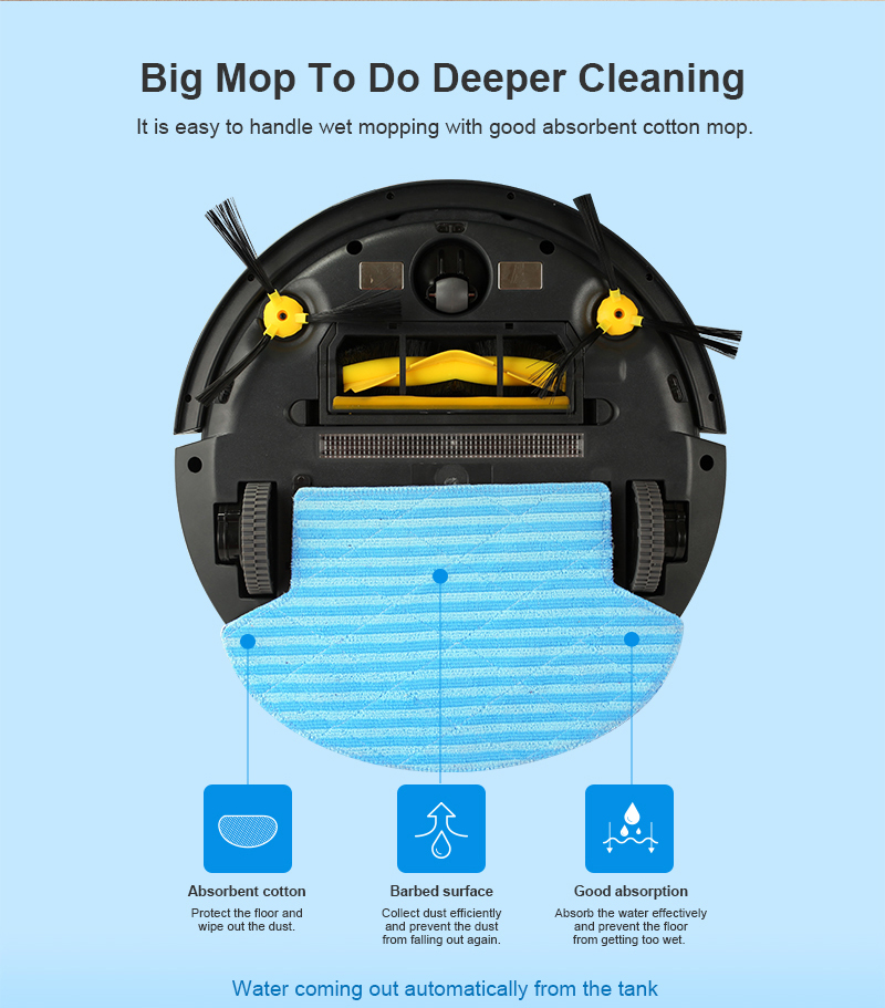 HTB1RQ3DPAzoK1RjSZFlq6yi4VXaG (FBA)LIECTROUX Robot Vacuum Cleaner B6009,Map Navigation,Smart Memory,Suction 3000pa,Dual UV Lamp,Wet Dry Mop,Wifi App aspirador